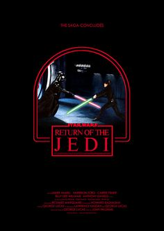 RETURN OF THE JEDI by Owain Wilson, via Flickr