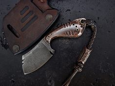 Custom  Cleaver Knife 234