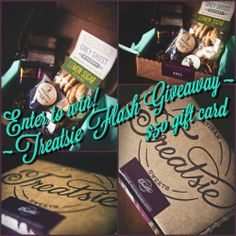 Treatsie giveaway for a $50 gift card!