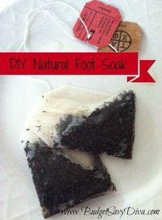 DIY Natural Foot Soak