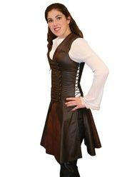 elvish huntress costumes | Saberist Short Dress