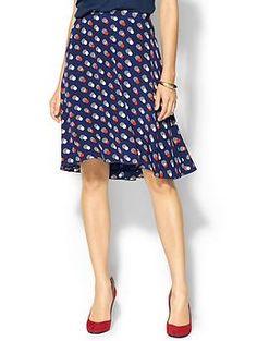 Kate Spade New York Holland Silk Skirt   Piperlime