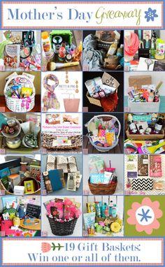 HUGE Mothers' Day Gift Basket Giveaway!!