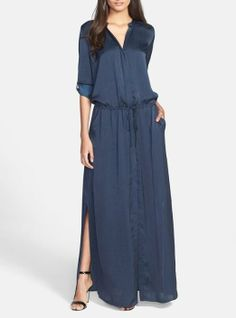 Want! Maxi shirtdress by Vince
