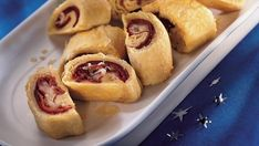 Turn Reuben sandwich ingredients into a tasty appetizer when you bake classic ingredients in Pillsbury® refrigerated crescent dinner roll dough and serve in bite-size pieces. dinner, appet, reuben bite, roll ups, corned beef, food, crescent rolls, flaki, recip