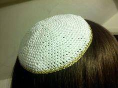 CROCHETED FREE PATTERN YARMULKES | Crochet and Knitting