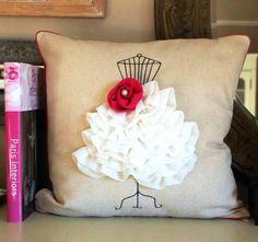 Lovely idea for a cushion♥