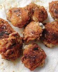 Fry Chicken INGREDIENTS 2 pounds bone-in, skin-on chicken thighs ...