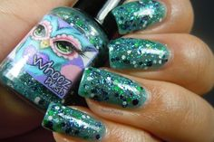 Sassy Paints: Whooz Polish Review: Jewel Beetle