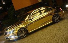 A gold Benz!! Whhhaat!?