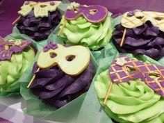 Masquerade cupcakes by Sugartown Cupcakes