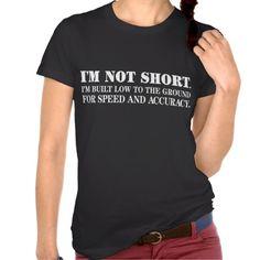 Short Humor Tee Shirts