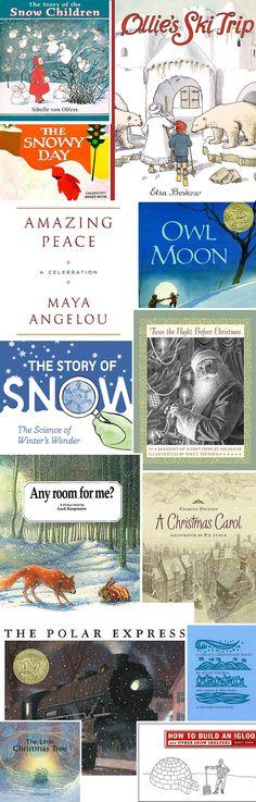 Lovely list of winter books...