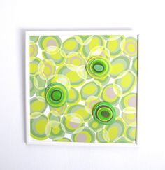 Magnetic Board with three felt magnets Wooden by TamTamFengShuiArt, $44.00