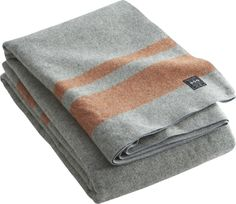 faribault wool blanket  | CB2