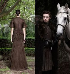Givenchy's take on Game of Thrones--Robb Stark.