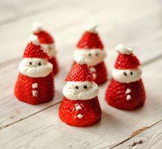 Santa Strawberries Recipe