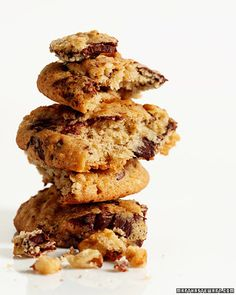 Banana-Walnut Chocolate Chunk Cookies