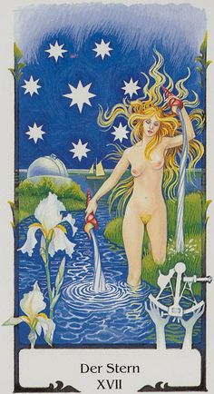 The Star - Tarot of the Old Path