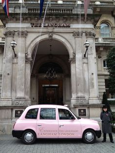 Transport Media Organise Taxi Branding For Langham London
