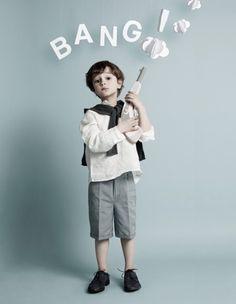 creativ kid, paper mache, kid photography, future kids, kids shooting, funny kids, paper props diy, kid photographi, bang bang
