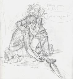 Percy and Annabeth in Tartarus