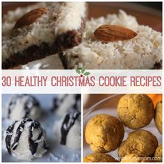 30 Healthy Christmas Cookie Recipes! Gluten Free and Dairy Free Cookies Galore!