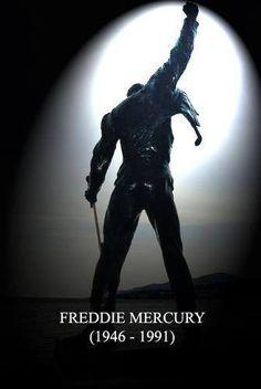 The great Freddie Mercury