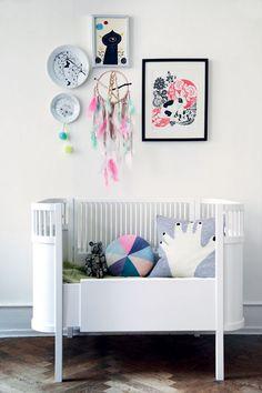 sweet, modern nursery