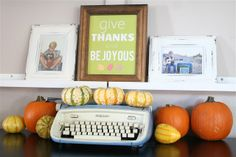 The Gingerbread Blog: Give Thanks >> Free Fall Printable