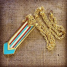 "Here's yet another sneak peek at our ""Deco"" collection. Coming soon! Melvin Large Arrow necklace. #melvin #madeinusa #artdeco #deco #arrow #chevron #colorblocking #necklaces #jewelry #accessories #sneakpeek #comingsoon #instagood #accessorize #madeinnyc #americanmade #melvinjewelry - @melvinjewelry- #webstagram"