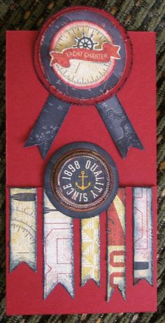 card by Susan Freeland using CTMH Tommy papers