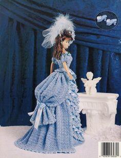 Free Fashion Doll Crochet Patterns, download | Free Crochet Doll Pattern Princess, Crochet Pattern Central - Free