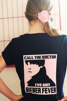 Justin Bieber Shirt w/ Eighteen 25