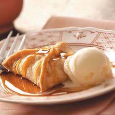 the perfect fall dessert. apple dumpling.