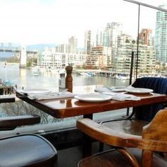 The Sandbar Seafood Restaurant - located in the hear of Granville Island and offers an intimate atmosphere for small weddings