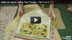 Tea Towel Apron Pattern  from Missouri Star Quilt Co