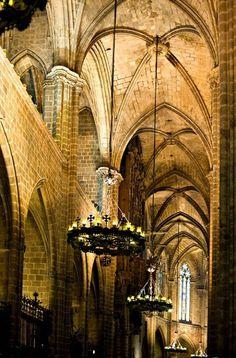 Barcelona Medieval (crec que es la Catedral de BCN)  Catalonia