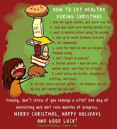 How to Eat Healthy During Christmas