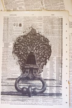 Print photographs on old dictionary pages?! Seriously?!