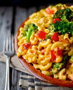 Confetti Macaroni in Spicy Cream Sauce. Mmmm!