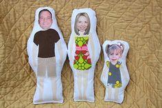 Family unit dolls