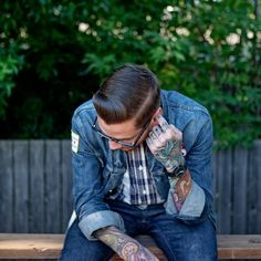 #style #fashion #hair #tattoos