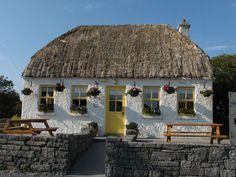 Cafe on Innis Mor, Aran Islands, Ireland
