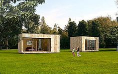 micro-casa prefabricada contemporánea ecológica 017 + EK EK 018 by ekokoncept eko koncept, wooden prefabricated buildings, d.o.o