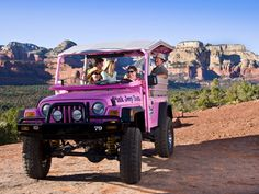Pink Jeep Tours in Arizona