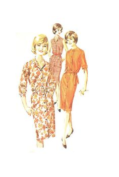 Butterick 2841 Retro Mod 1960s Sewing by AdeleBeeAnnPatterns, $7.50