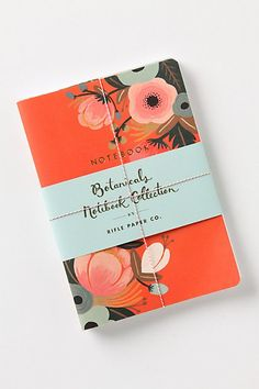 Rifle Paper Co. notebooks at Anthropologie #notebook #diary #stationary #notizbuch #tagebuch #papier #notizbuchblog