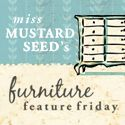 """Miss Mustard Seed is in the """"creme de la creme"""" category of blogs for vintage and repurposing.  She's highly quoted and well deserved.  I like to go to her blog for great ideas and tutorials."""