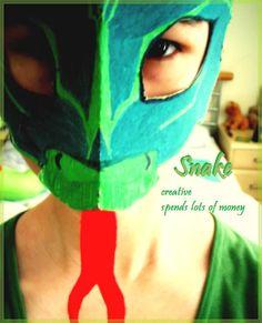 Image detail for -Snake Mask by ~Lolipopgi on deviantART